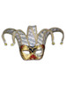 Venetian mask Colombina Jolly Musica