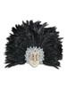 Venetian feathered mask Volto Piume Mac