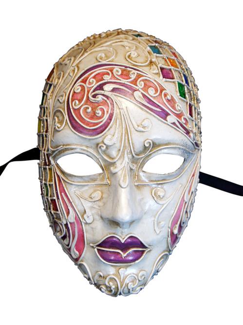 Authentic Venetian Mask Volto Mosaica