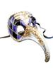 Authentic Venetian Mask Zan Turco Arlecchino
