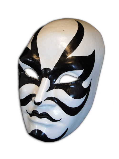 Authentic Venetian Mask Volto Kabuki Kuge-Aku