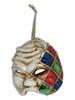 Venetian Mini Commedia Dell'Arte Mask Ornament Arlecchino