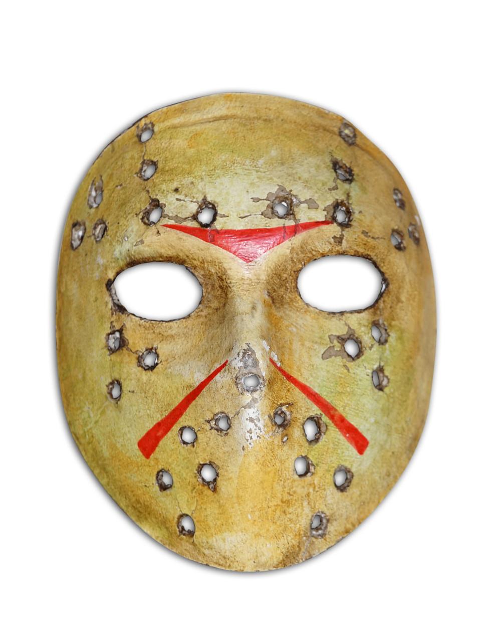 Authentic Venetian Mini Commedia Dellarte Mask Ornament Jason