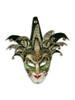 Authentic Venetian paper mache mask Jester Brutus