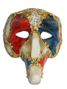 Authentic Venetian Mask Pantalone Ron