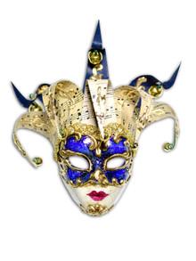 Venetian mini mask Jolly Musica
