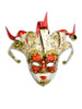 Venetian mini mask Jolly Musica