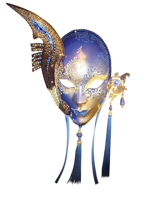 Authentic Venetian mask Volto Gondola