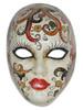 Authentic Venetian Mask Volto Cabare