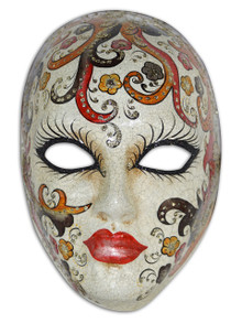 Authentic Venetian Mask Volto Cabare