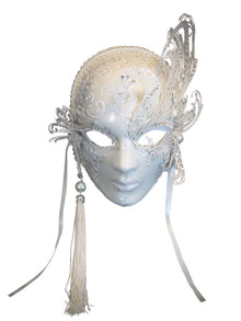 Authentic Venetian mask Volto Cigno