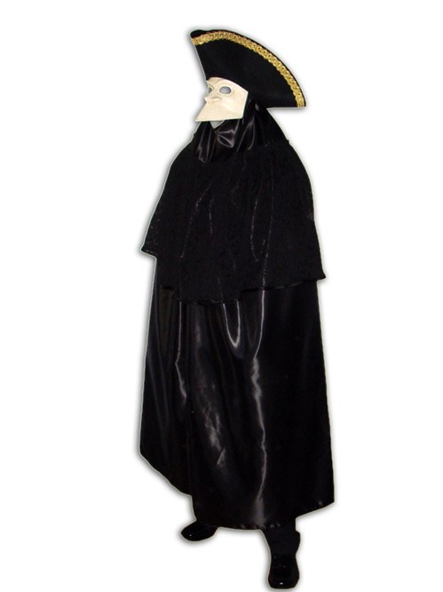 Traditional Venetian Bauta costume