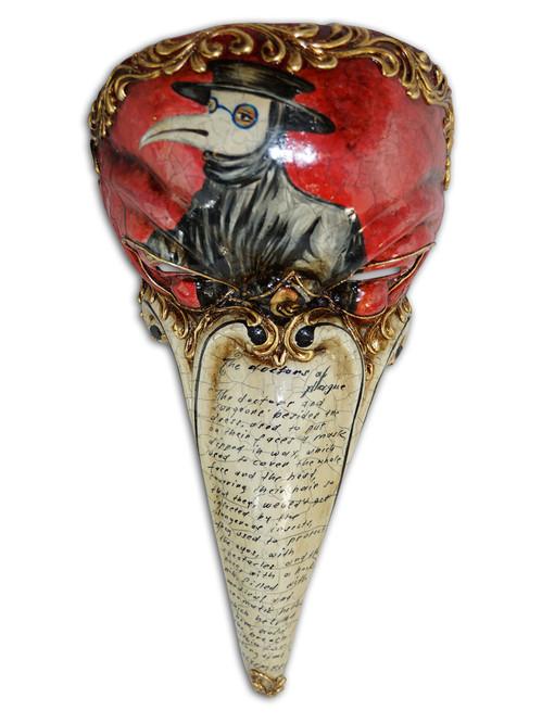 Venetian mask Dottore Peste Artistico III