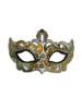 Authentic Venetian Mask Colombina Cabare