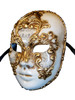 Authentic Venetian Mask Volto Musica