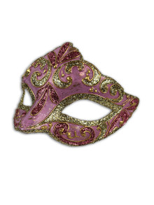 Venetian Mask Colombina Liliana