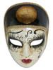 Authentic Venetian Mask Volto Pierrot