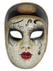Authentic Venetian Mask Volto Pierrot