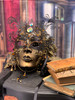 Luxury Venetian mask Volto Metallo Joy