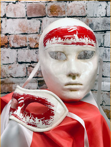 Venetian Masks Set - Belarus FREEDOM
