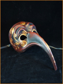 Authentic Venetian mask Zan Turco Bruno