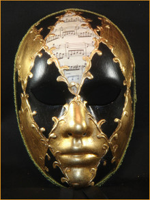 Authentic Venetian mask Volto Ron