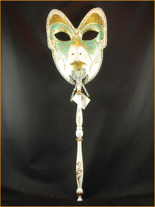 Authentic Venetian mask Volto Manico Colore