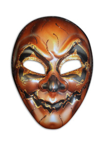 Authentic Venetian mask Volto Halloween
