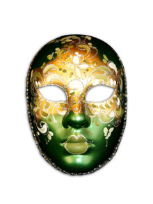 Authentic Venetian mask Volto Flore