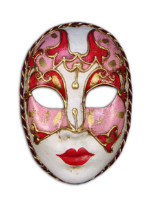 Authentic Venetian mask Volto Cordone