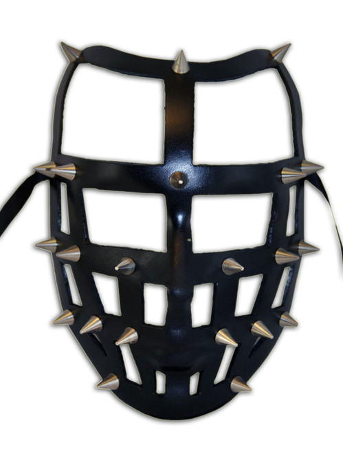 Authentic Venetian leather mask Volto Carcere