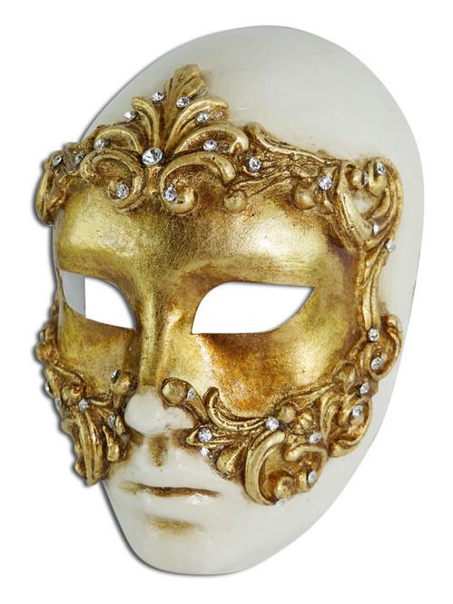 Authentic Venetian mask Volto Baroque