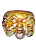 Authentic Venetian mask Trifaccia