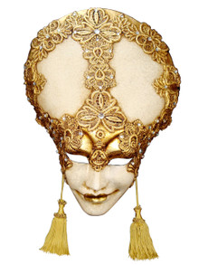 Authentic Venetian mask Liberty Mac Craqule
