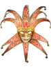 Venetian paper mache mask Jolly Velutto Lux