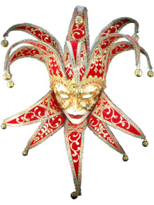 Venetian mask Jolly Velutto Carte