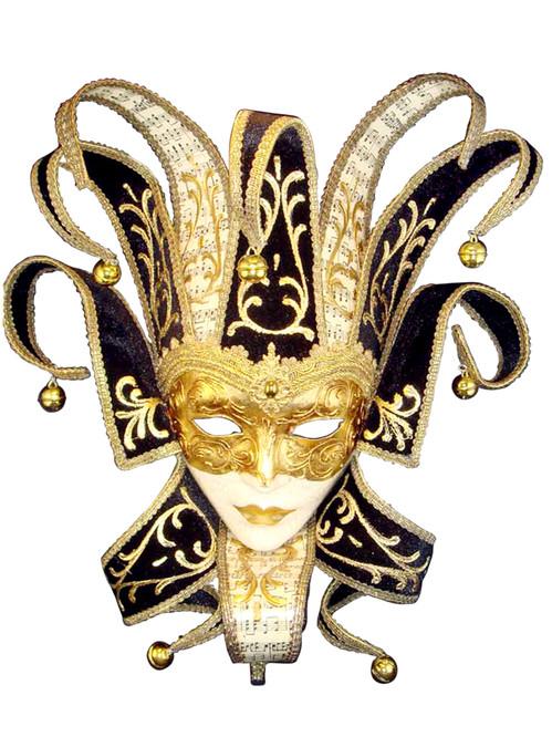 Venetian mask Jolly Trinity Lux
