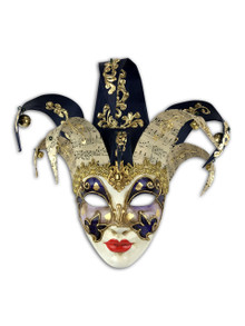 Venetian paper mache mask Jolly Alba