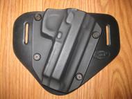 Beretta OWB standard hybrid leather\Kydex Holster (Adjustable retention)