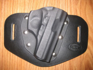 Bersa OWB standard hybrid leather\Kydex Holster (fixed retention)