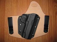 Colt IWB standard hybrid leather\Kydex Holster (fixed retention)