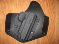 CZ IWB standard hybrid leather\Kydex Holster (Adjustable retention)