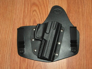 HK IWB standard hybrid leather\Kydex Holster (fixed retention)