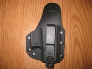 KAHR IWB small print hybrid holster Kydex/Leather