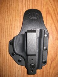 RUGER IWB small print hybrid holster Kydex/Leather