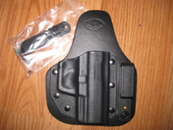 WALTHER IWB appendix carry hybrid Leather/Kydex Holster (fixed retention)