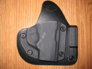 TAURUS IWB appendix carry hybrid Leather/Kydex Holster (adjustable retention)