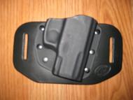 TAURUS OWB standard hybrid leather\Kydex Holster (fixed retention)