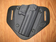 KELTEC OWB standard hybrid leather\Kydex Holster (Adjustable retention)