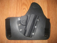 MAKAROV PM IWB standard hybrid leather\Kydex Holster (fixed retention)